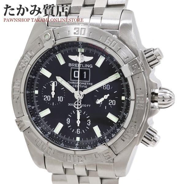 4b76a2ad93 ... なっております   付属のBOXに劣化が·:1901513:ブライトリング   ブラックバード   A44359   メンズ   ファッション    腕時計   アクセサリー   メンズ腕時計