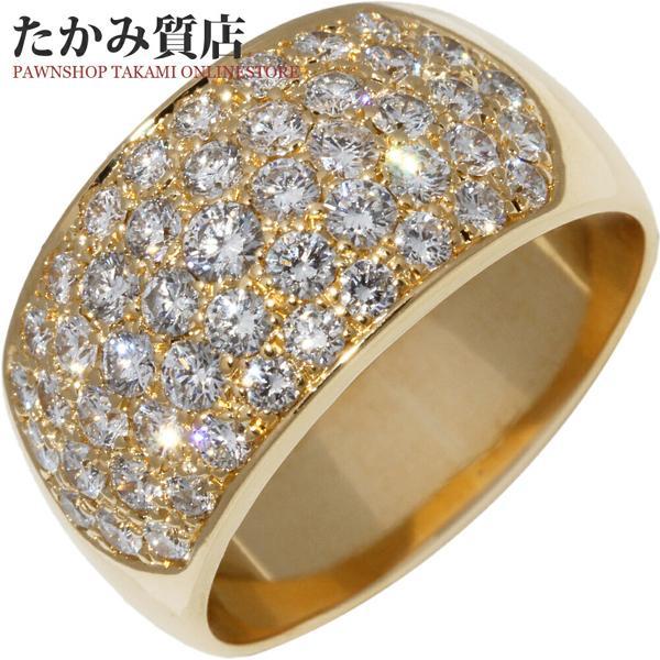 ブランド品専門の 指輪 リング K18YG ダイヤ1.34ct 14号, シュラメック正規取扱店 BB COSME 804990f3