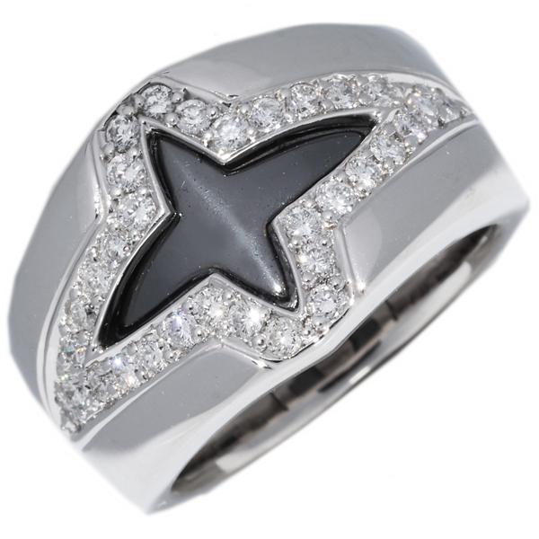 新しいエルメス 指輪 リング メンズリング Pt900 K18WG ブラックロジウムメッキ ダイヤ0.48ct 10.5号, 製本店舗&事務用品のポップ屋 42bd8b7e
