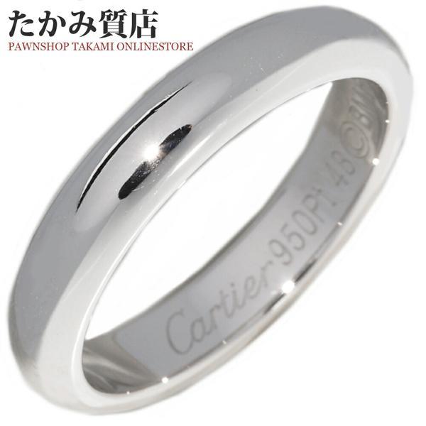 高い品質 カルティエ 指輪 リング Pt950 クラシックウエディングリング 1895ウエディングリング 幅3.5ミリ B40367 #48 8号, 宮崎牛のながやま 54a5b5a8