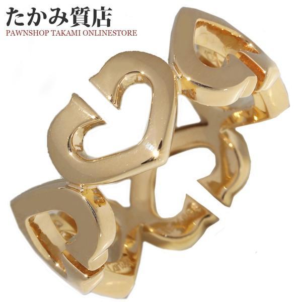 人気デザイナー カルティエ 指輪 リング 指輪 K18YG カルティエ Cハートリング #48 #48 8号, 女川町:e2f528b5 --- airmodconsu.dominiotemporario.com