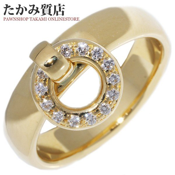 激安正規品 ティファニー 指輪 リング K18YG リング ドアノックリング 指輪 K18YG 12.5号, Beard Store:8c9f0270 --- airmodconsu.dominiotemporario.com