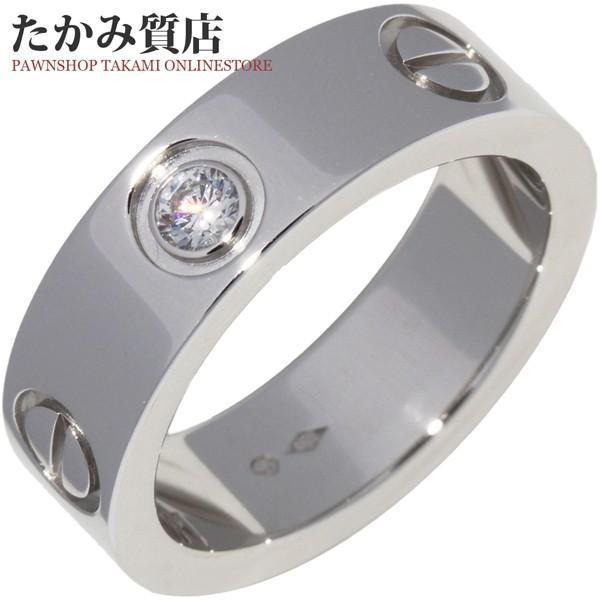【値下げ】 カルティエ 指輪 リング Pt950 ダイヤ1P 0.07ct ラブリング B40467 #49 9号, LALA STYLE(ララスタイル) df03e04e