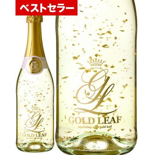ゴールド リーフNV ( 金箔入り ワイン ) スパークリング ( 泡 白 ) スパークリング  【※ラッピング 包装をご希望の場合は、 ギフト箱を一緒にご注文下さい】|takamura