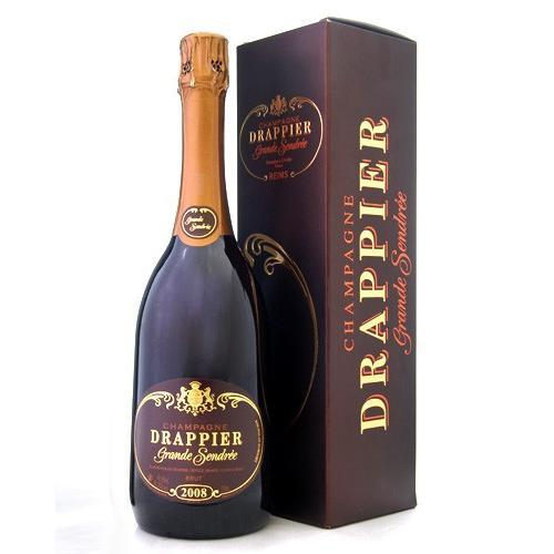 箱入り グラン サンドレ [2008] ドラピエ ( 泡 白 ) シャンパン シャンパーニュ (ワイン(=750ml)11本と同梱可)