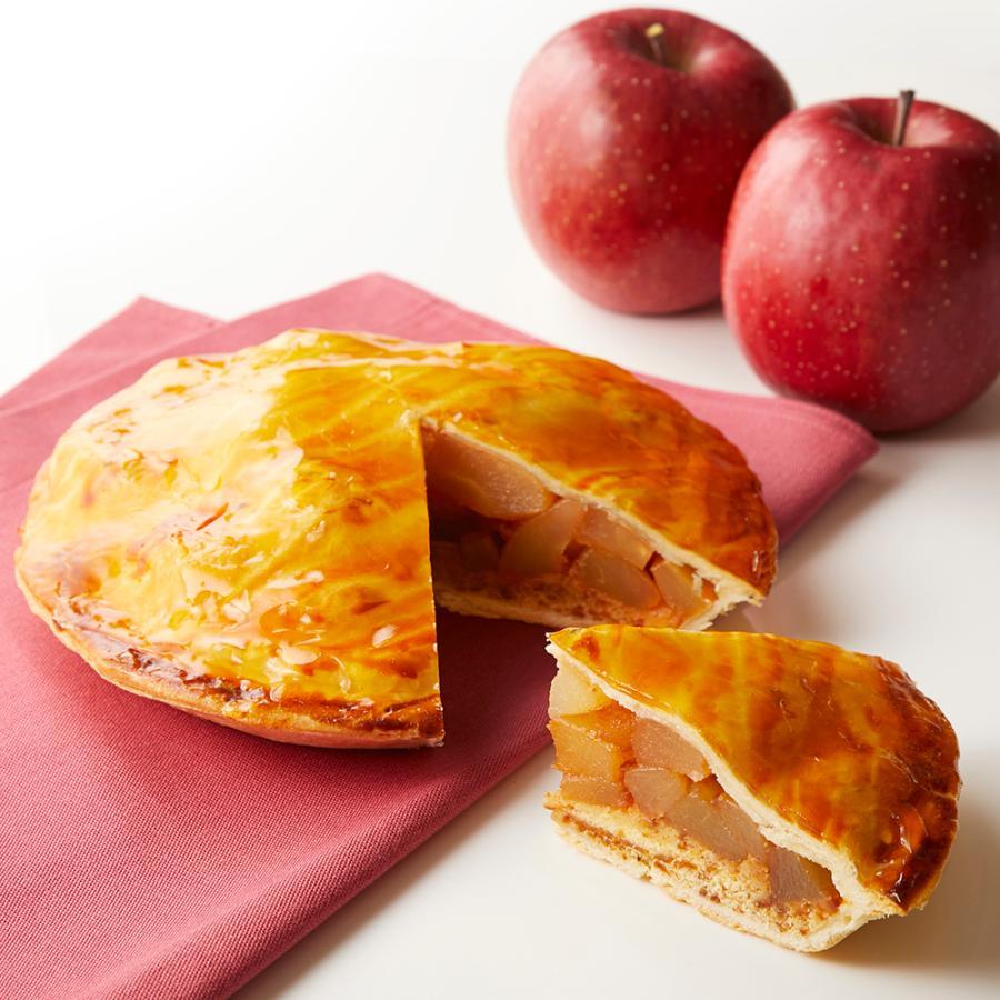 お取り寄せスイーツ プレゼント アップル 物品 パイ 誕生日 りんごパイ 内祝 結婚 #95020 御祝 宅配便送料無料 直径約18cm 6号 アップルパイ 新宿高野 公式