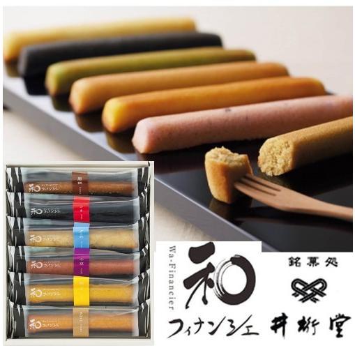 井桁堂 焼菓子詰合せ  和フィナンシェ|takano-gift