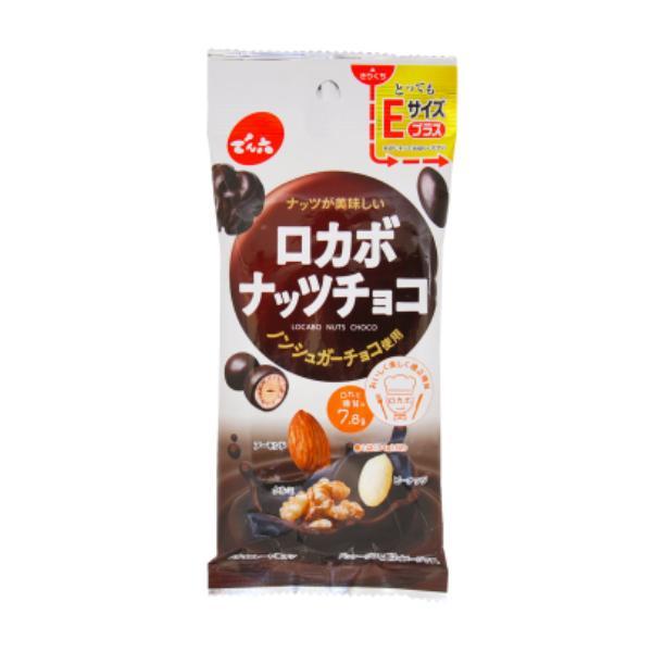 でん六 34g Eサイズプラス ロカボナッツチョコ 10入 takaoka