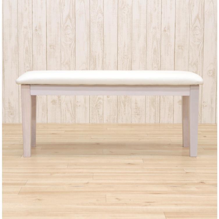 ダイニングベンチ 95cm ac2-360-bencw 2人 ホワイト ウォッシュ クリア色 木製 クッション 玄関 長椅子 待合室 アウトレット ac2 kurosu mindi 1s-1k-147 sg|takara21|11