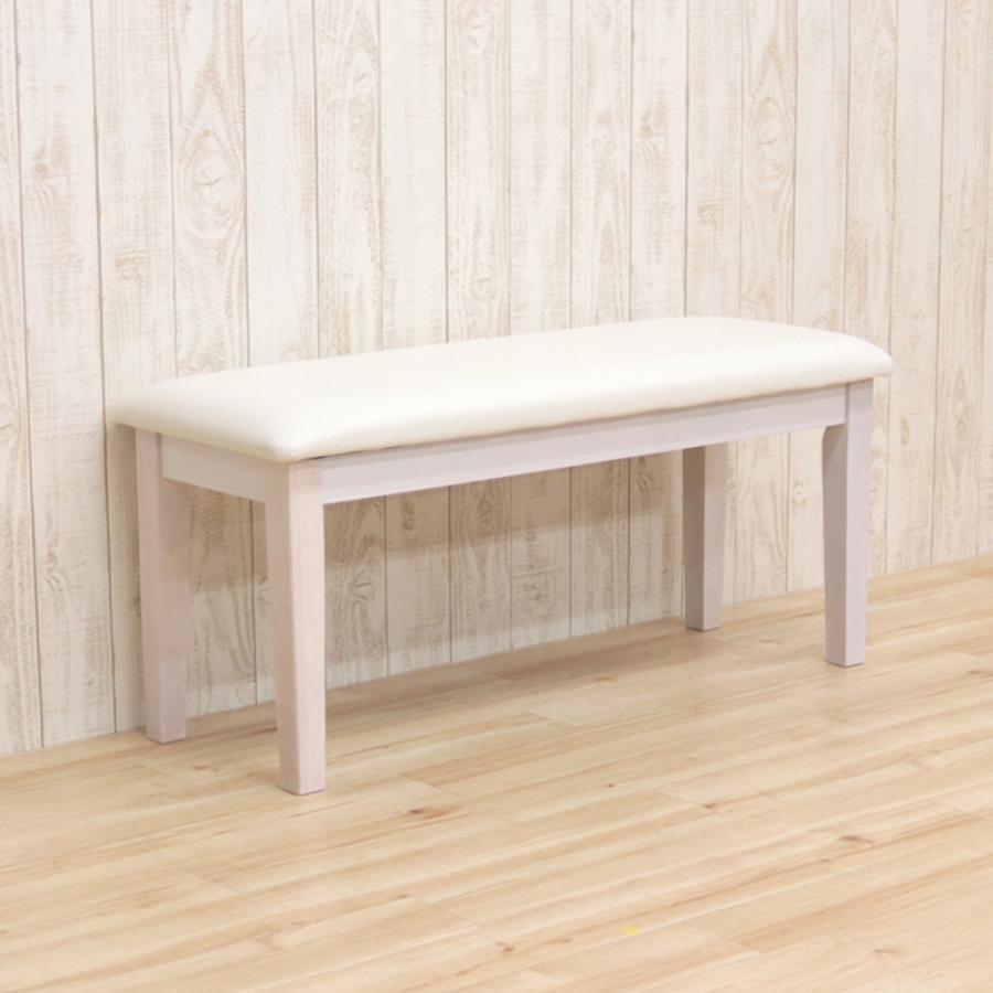 ダイニングベンチ 95cm ac2-360-bencw 2人 ホワイト ウォッシュ クリア色 木製 クッション 玄関 長椅子 待合室 アウトレット ac2 kurosu mindi 1s-1k-147 sg|takara21|13