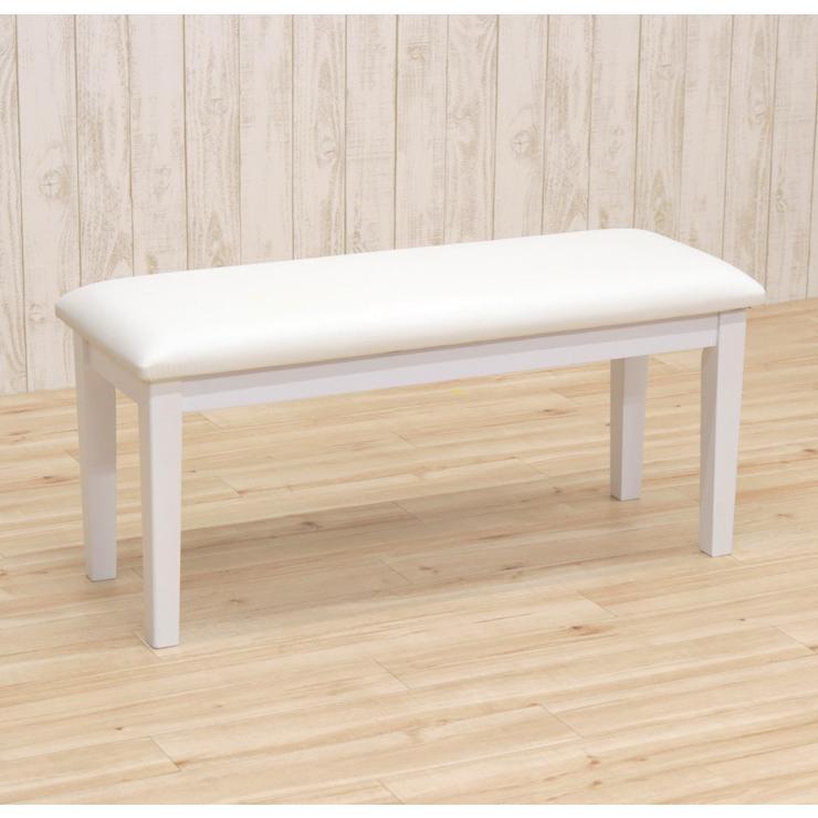ダイニングベンチ 95cm ac2-360-bencw 2人 ホワイト ウォッシュ クリア色 木製 クッション 玄関 長椅子 待合室 アウトレット ac2 kurosu mindi 1s-1k-147 sg|takara21|09