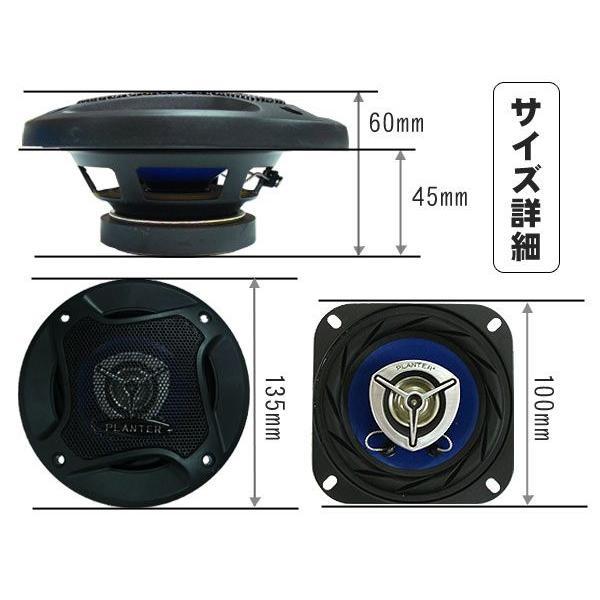 カースピーカー 10cm パフォーマンスモデル|takarabune|03