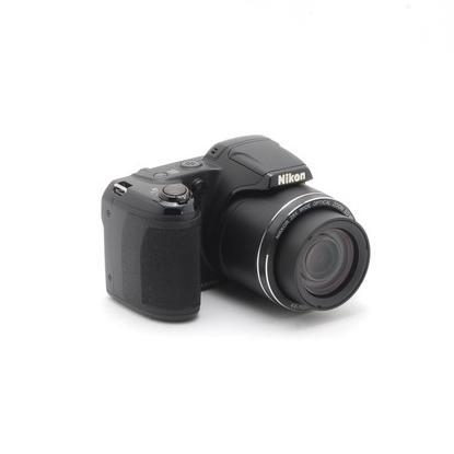 Nikon Cool Pix クールピクス L340 コンパクトデジタル カメラ ブラック 中古 初心者おすすめ 超高倍率 Wi-Fi|takaranoomise|02