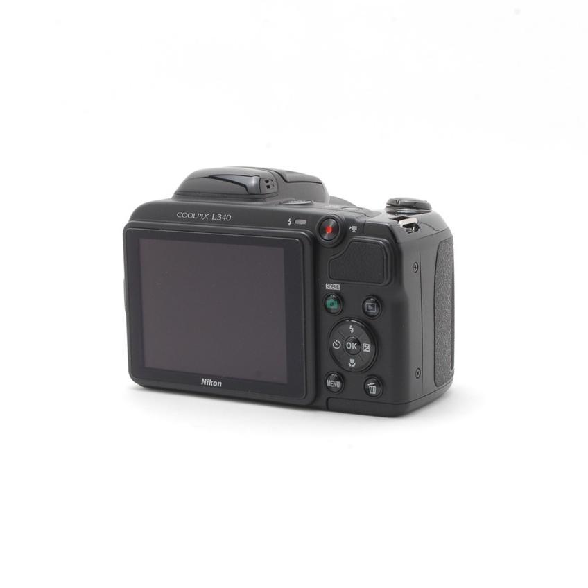 Nikon Cool Pix クールピクス L340 コンパクトデジタル カメラ ブラック 中古 初心者おすすめ 超高倍率 Wi-Fi|takaranoomise|03
