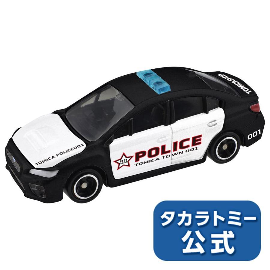 トミカショップオリジナル スバル 特価 WRX 海外パトロールカー仕様 送料無料カード決済可能 S4