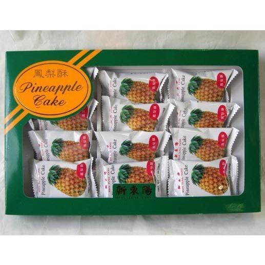 (代引不可)新東陽 鳳梨酥 12個入×12箱 【パイナップルケーキ】台湾産