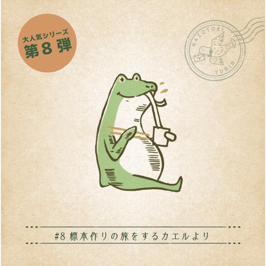 月刊謎解き郵便『ある友人からの手紙』#8 標本作りの旅をするカエルより takarushshop
