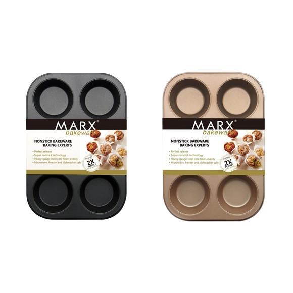 マフィン型 6ヶ取 / 1枚  お菓子作りの型 マドレーヌ・フィナンシェ天板型(家庭用オーブンサイズ) 表面フッ素加工  送料無料 |takayama|04