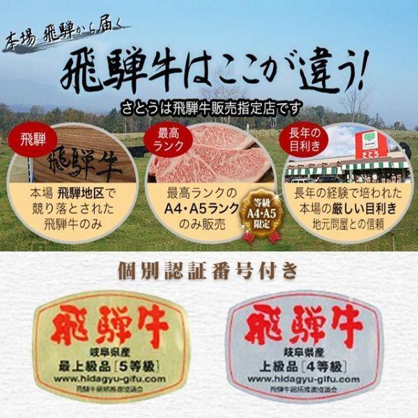 飛騨牛 A5 A4 ランク 焼き肉 焼肉 用 ギフト 牛肉 和牛 国産 牛 モモ 300g 送料無料 就職祝 入学祝 プレゼント|takayamasatou|02