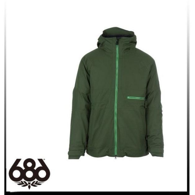 ハイエンドモデル【SALE】【686】シックスエイトシックス AUTH Smarty Network Jacket 緑 ジャケットメンズ