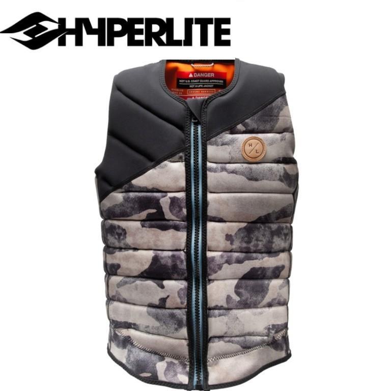 2021 HYPERLITE GRAEME BURRESS SIGNATURE ファッション通販 JACKET WISHBONE ライフジャケット ベスト 物品 ウェイクボード ハイパーライト VEST シグネイチャモデル