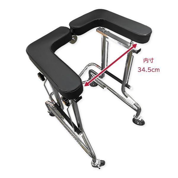 歩行器 高齢者 室内用 介護用品 福祉用具 歩行補助 リハビリ 馬蹄式 肘支持 前腕支持型歩行車 アルコー1S型 takecare-delivery 05