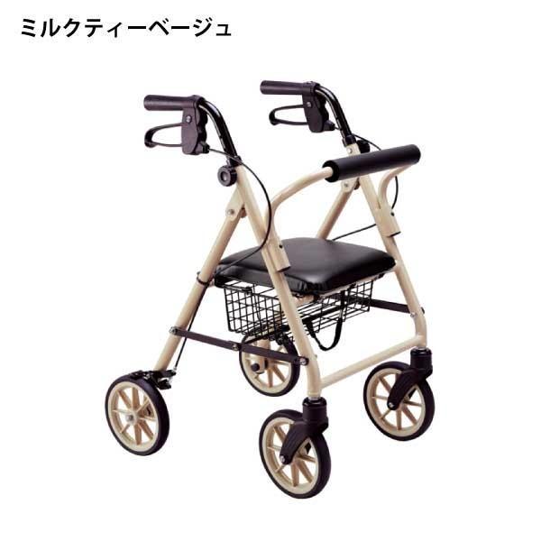 歩行器 高齢者 介護用品 歩行補助 室内 屋外 歩行車 竹虎 ハッピーミニ takecare-delivery 02