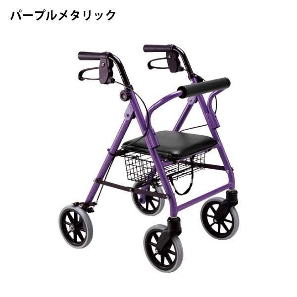 歩行器 高齢者 介護用品 歩行補助 室内 屋外 歩行車 竹虎 ハッピーミニ takecare-delivery 03