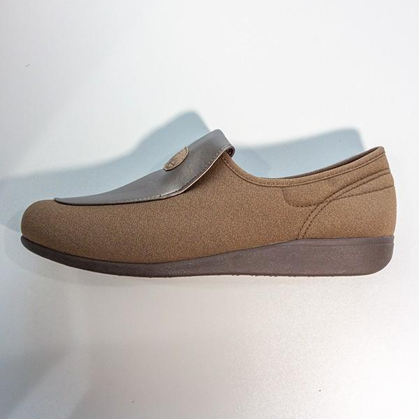 在庫処分品 介護用シューズ 介護用品 介護靴 女性用 アサヒシューズ 快歩主義 L122 23.5cm オーク|takecare-delivery|02