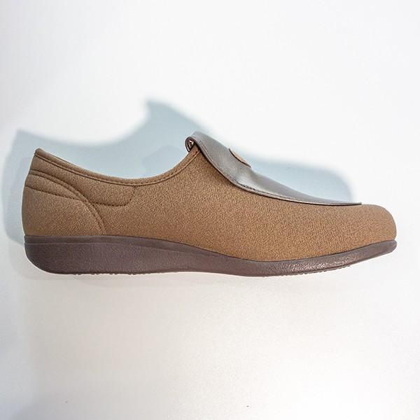 在庫処分品 介護用シューズ 介護用品 介護靴 女性用 アサヒシューズ 快歩主義 L122 23.5cm オーク|takecare-delivery|03