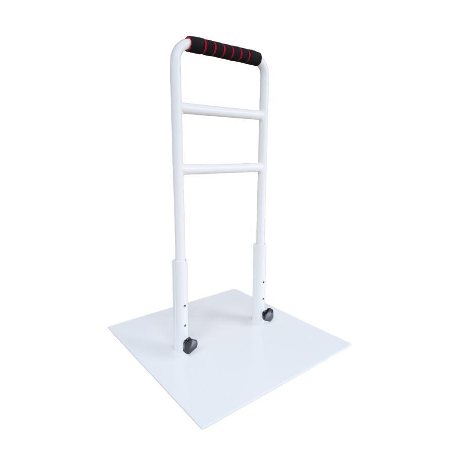立つ之助 愛 立ち上がり補助器具 手すり 介護 ベッド イス など 高さ3段階調整 倒れない安心感 スチール素材 オフホワイト 日本製 |takei-co