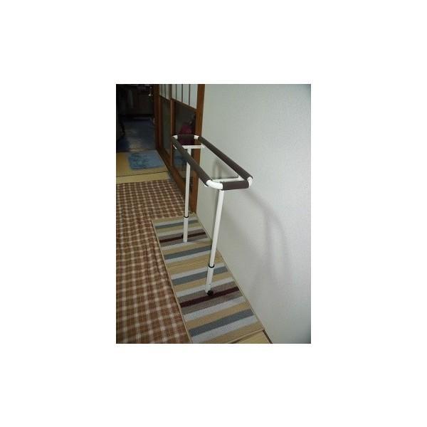 歩行訓練器具 立つ之助 歩 スチール素材 ライトブラウン掲載画像の白とは異なります 日本製|takei-co|05
