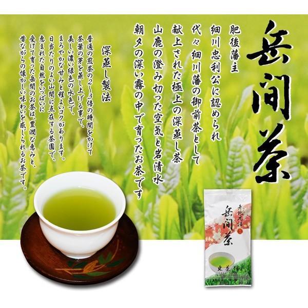 『特選』岳間茶100g|takemacha|02