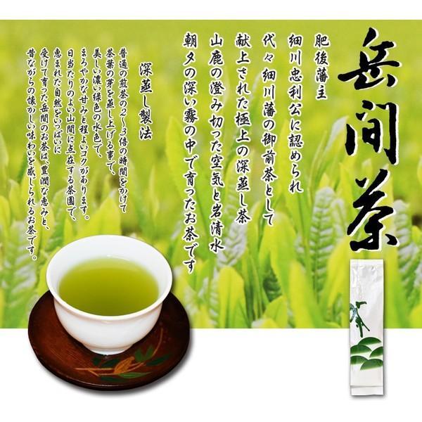 岳間茶「お徳用」250g takemacha 02