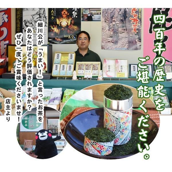 岳間茶「あららぎ」(特選2本入り) takemacha 03