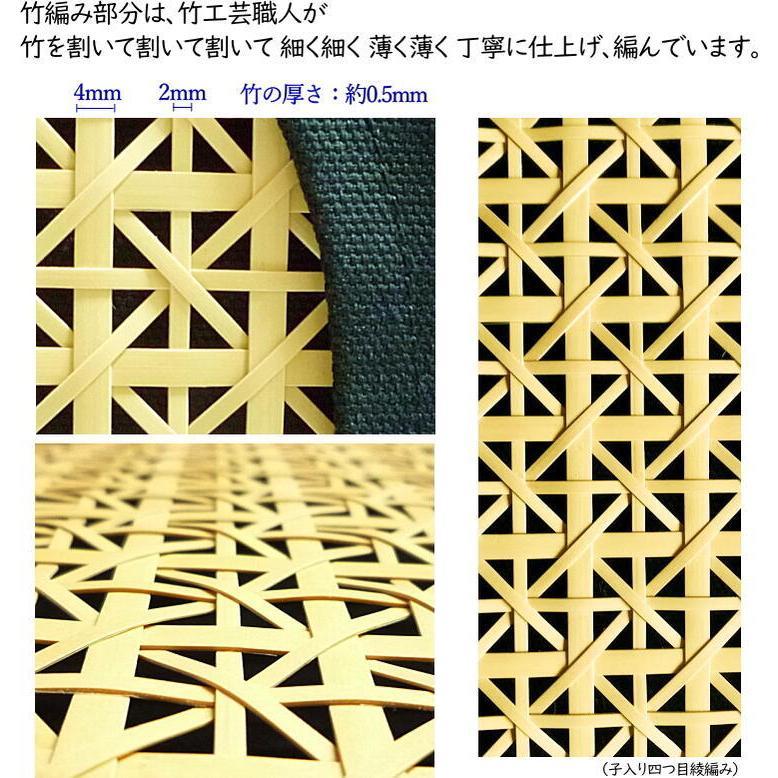 【いしかわ竹の店オリジナル】Bambooトートバッグ takenomise 09