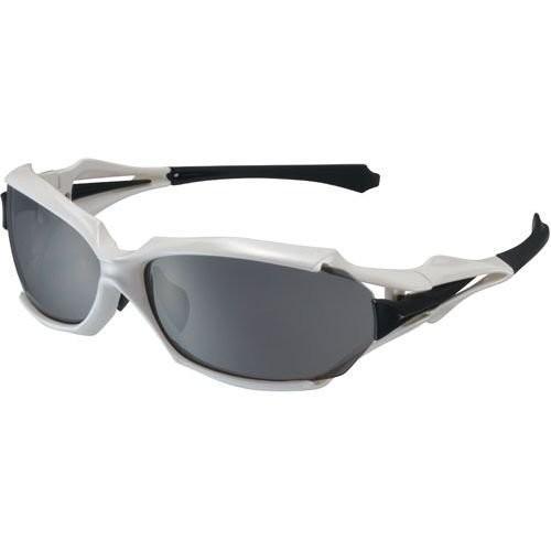 OGK KABUTO(オージーケーカブト) FD-550 パールホワイト 偏光撥水スモーク/撥水クリアレンズセット サイクルスポーツアイウェ