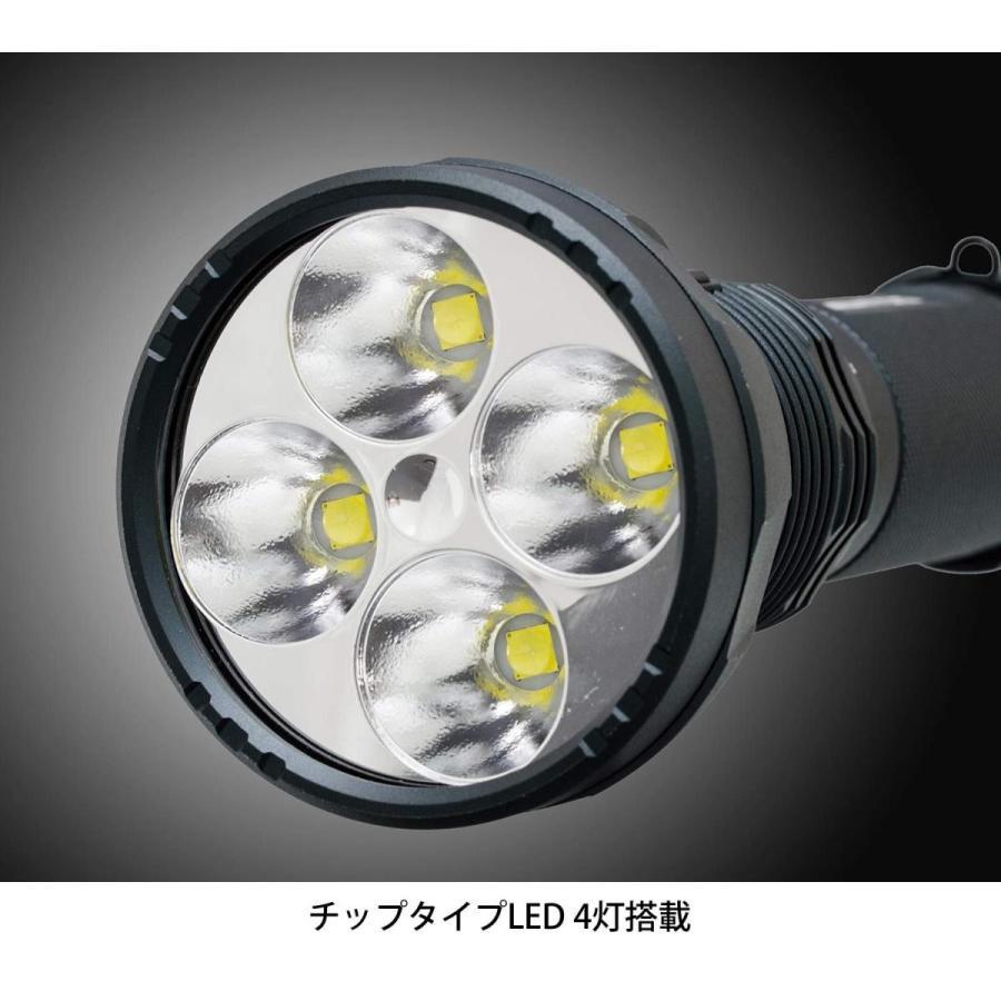 GENTOS(ジェントス) LED懐中電灯 充電式 明るさ1600ルーメン/実用点灯5時間 UT-618R