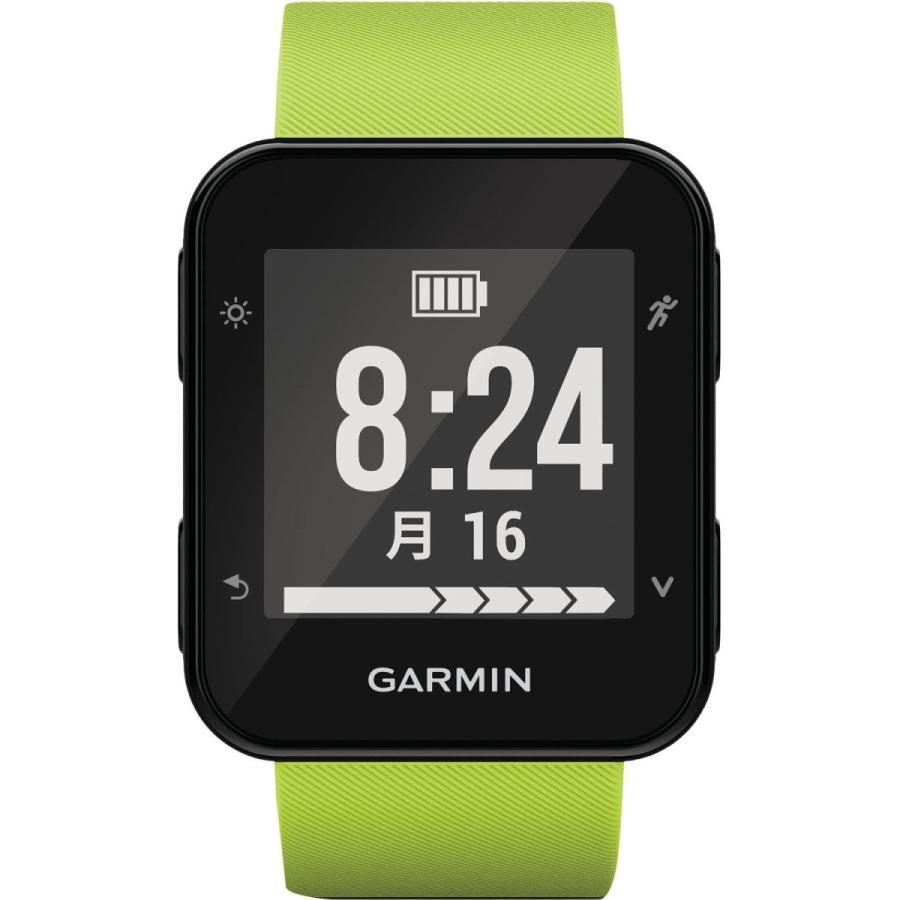 【正規取扱店】 GARMIN(ガーミン) ランニングウォッチ GPS 心拍計 ライフログ 50m防水 ForeAthlete 35J ライムグリーン 日本正, イヨグン 16a5ab56