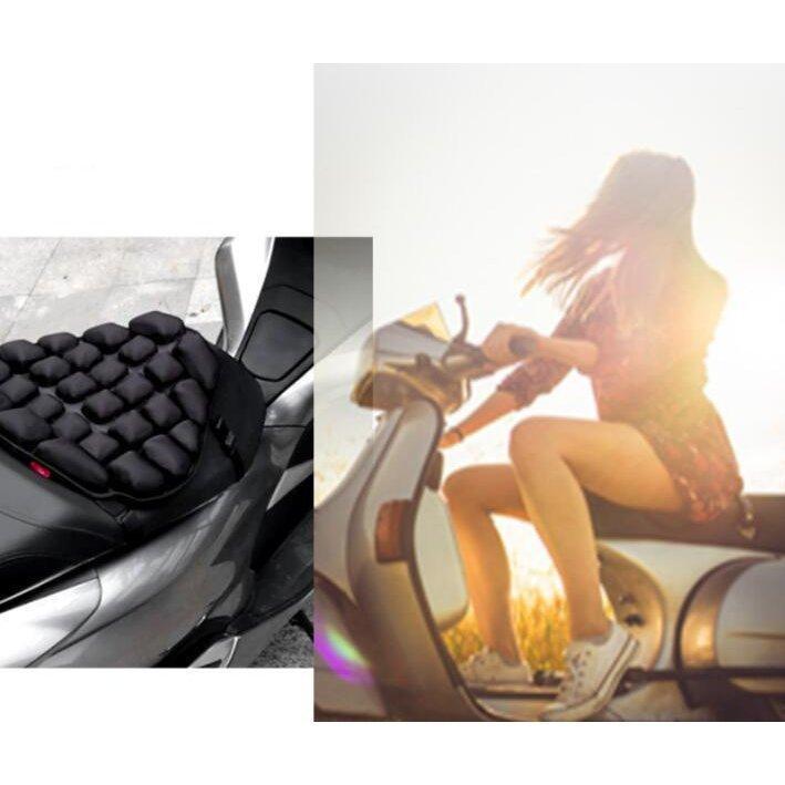 快適なツーリングを!! 圧力分散、衝撃吸収クッション 滑りにくい バイク用座布団 takesancompany 08