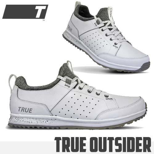 トゥルー リンクスウエア トゥルーアウトサイダー ゴルフシューズ スパイクレス ソフトスパイク TRUE linkswear TRUE Outsider あすつく対応