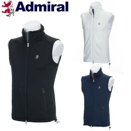 40%オフ アドミラル ゴルフ メンズ ウェア フリース ベスト 保温性 ハイパーストレッチ 【ADMA898】 Admiral Golf 【18FW】【あす楽対応】【SS0904】