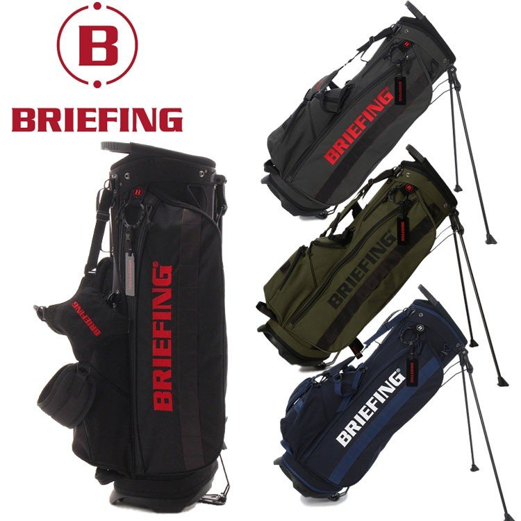 驚きの安さ ブリーフィング ゴルフ スタンドバッグ キャディバッグ メンズ BRG183701 CR-4 #01 BRIEFING, 【楽天ランキング1位】 de4fda59