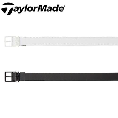 キャッシュレス還元5% テーラーメイド ゴルフ メンズ ベルト ビッグロゴ レザー KY371 TaylorMade 【あす楽対応】【smtb-f】