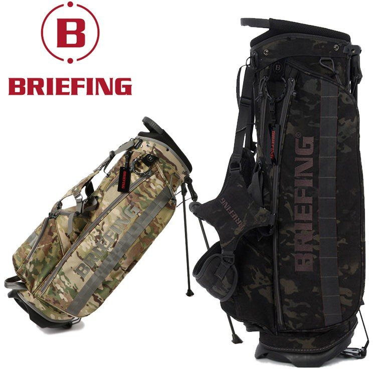 ブリーフィング ゴルフ キャディバッグ メンズ スタンドバッグ BRG191D02 CR-4 #01 BRIEFING