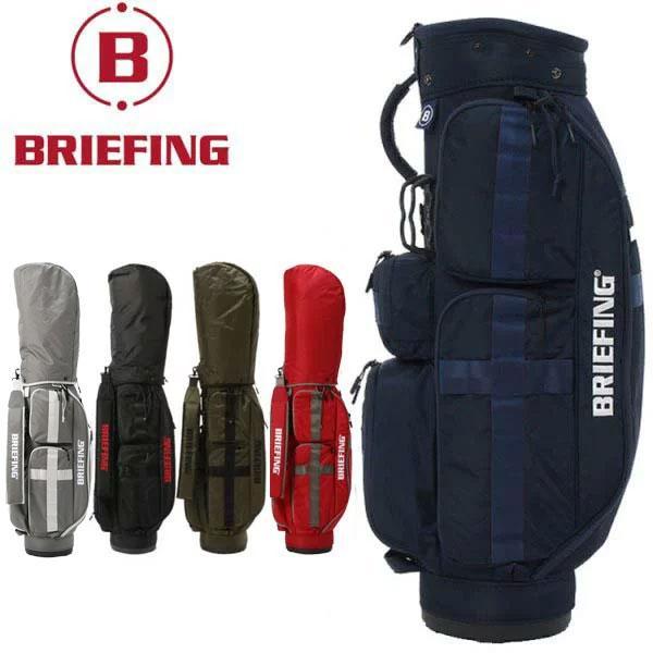 キャッシュレス還元5% ブリーフィング ゴルフ キャディバッグ メンズ カートバッグ BRG191D05 CR-6 BRIEFING メンズ レディース ユニセックス