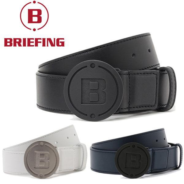 キャッシュレス還元5% ブリーフィング ゴルフ メンズ レザー ベルト Bシリーズ BG1732520 BRIEFING