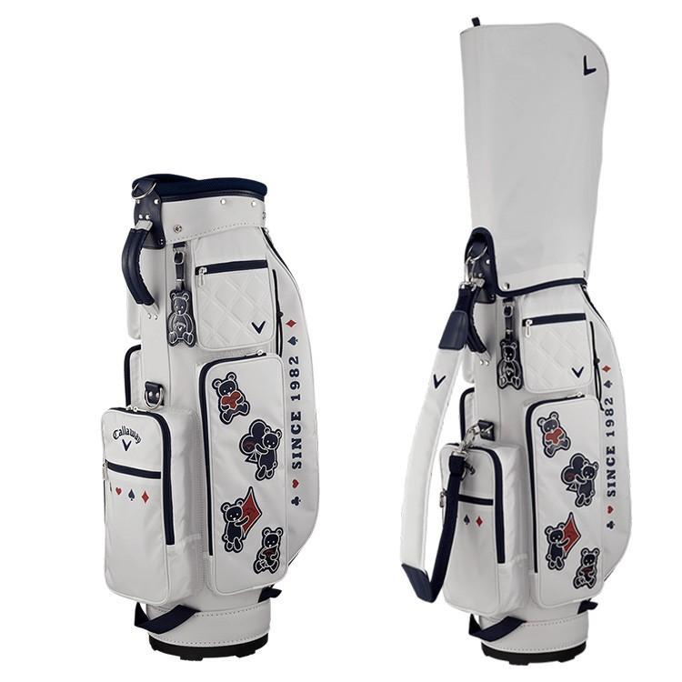 キャロウェイ ゴルフ レディース キャディバッグ ベア カード ウィメンズ FW 19 JM Callaway golf