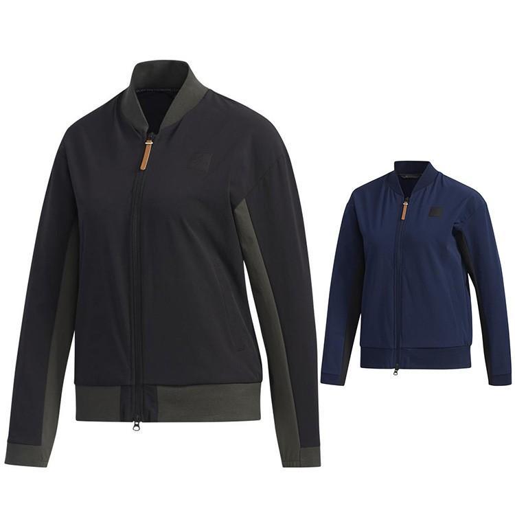 アディダス ゴルフ レディース ウェア ブルゾン ADICROSS ライトウェイト 長袖 ジャケット FYO47 adidas golf
