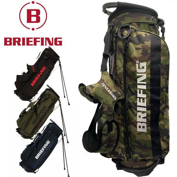 キャディバッグ ブリーフィング ゴルフ スタンドバッグ 全国どこでも送料無料 メンズ キャディバック ゴルフバッグ CR-4 お買い得品 人気 5分割 おしゃれ 9.5型 #02 3.5kg